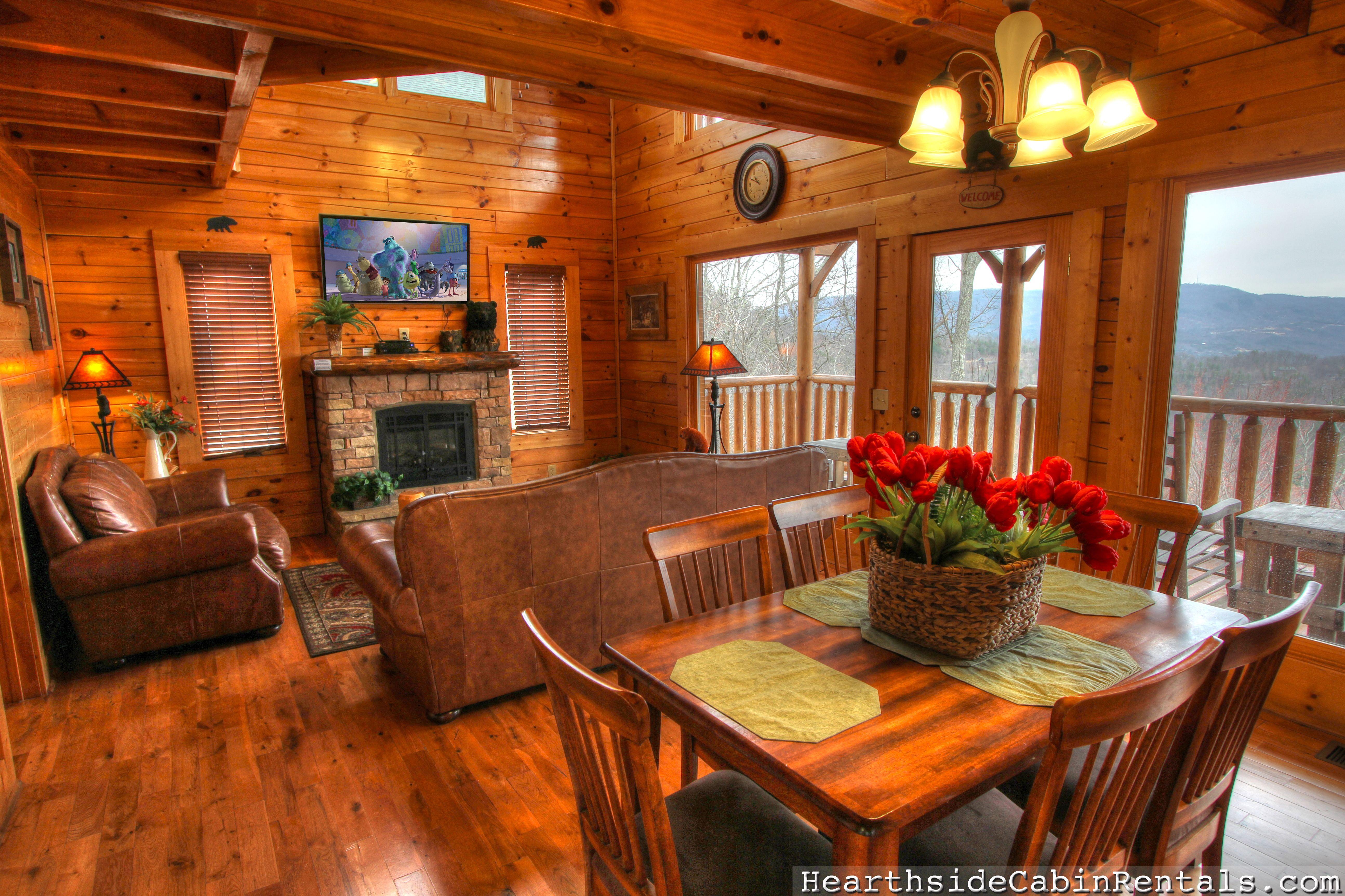 HEAVENLY INSPIRED 1 BEDROOM cabin in Sevierville