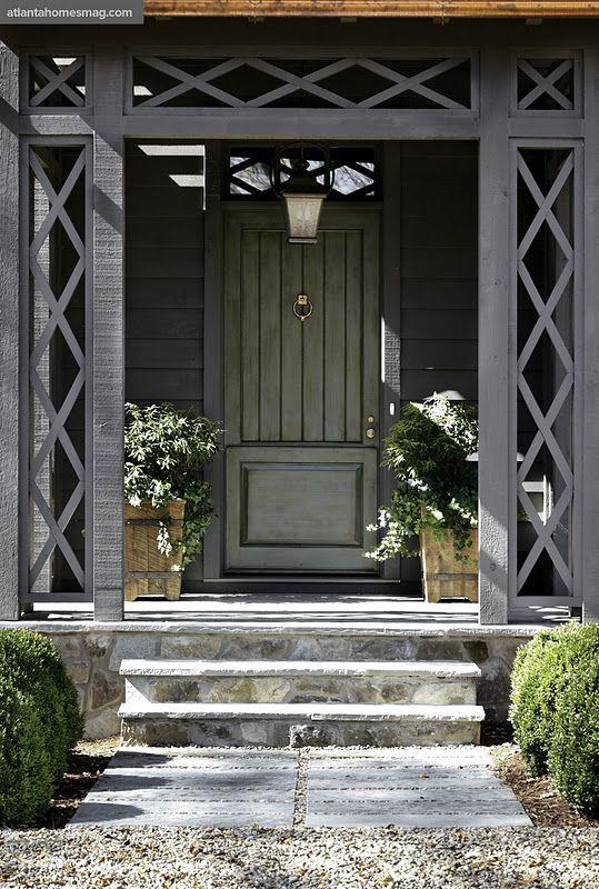 Emily Followill Photography, lattice around door, D. Stanley Dixon Architect