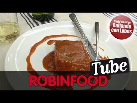 ROBINFOOD / Bacalao a la vizcaina + Mamia con higos y teja de miel - YouTube
