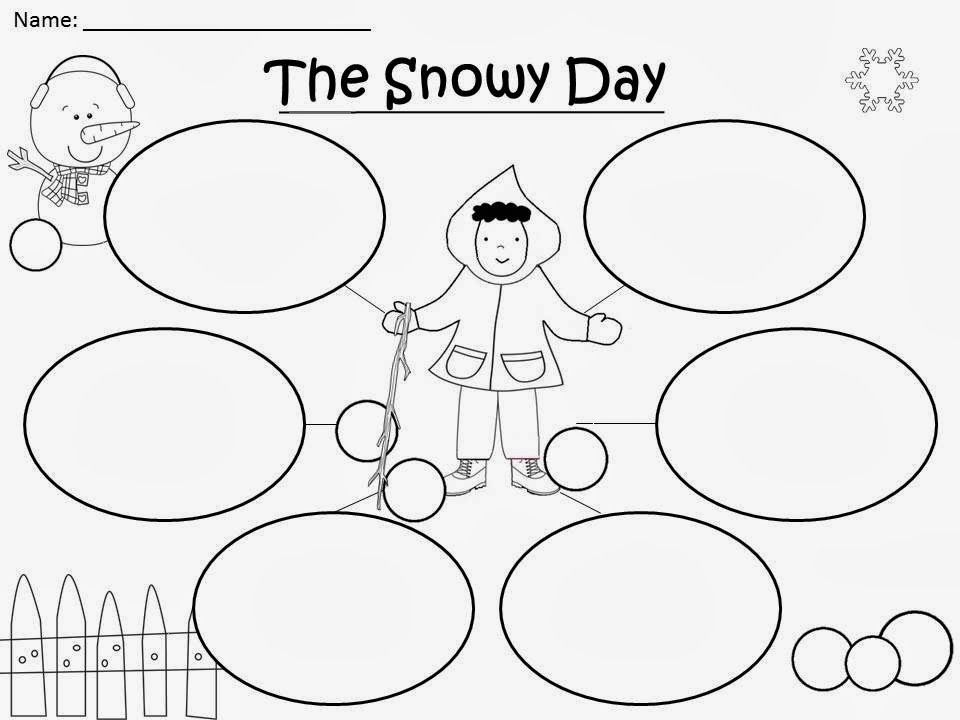 Free: The Snowy Day Bubble Map..... Freebie For A Teacher From A ...