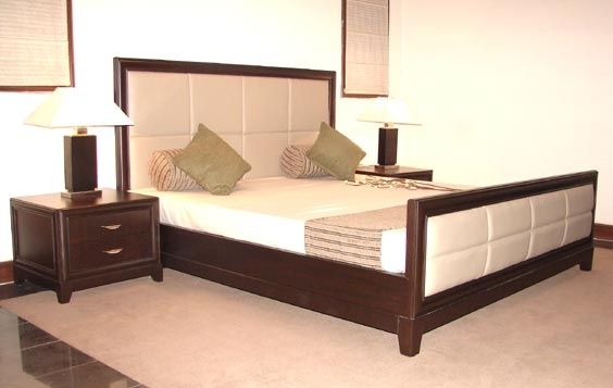 BK Bed   Buy King Size Bed With Bed Sides Table And Bed Headboards From  Living