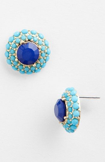 Lydell NYC Stud Earrings available at #Nordstrom