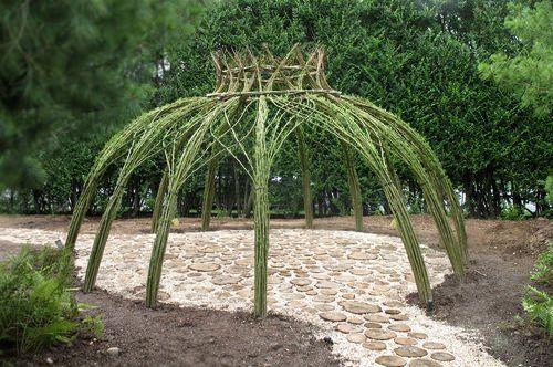 Living Willow Garden Decor Structure | Patios, Gardens and Garden art