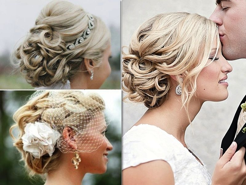 Bridal Hairstyle With Rose : 50 best dusty rose gold wedding images on pinterest