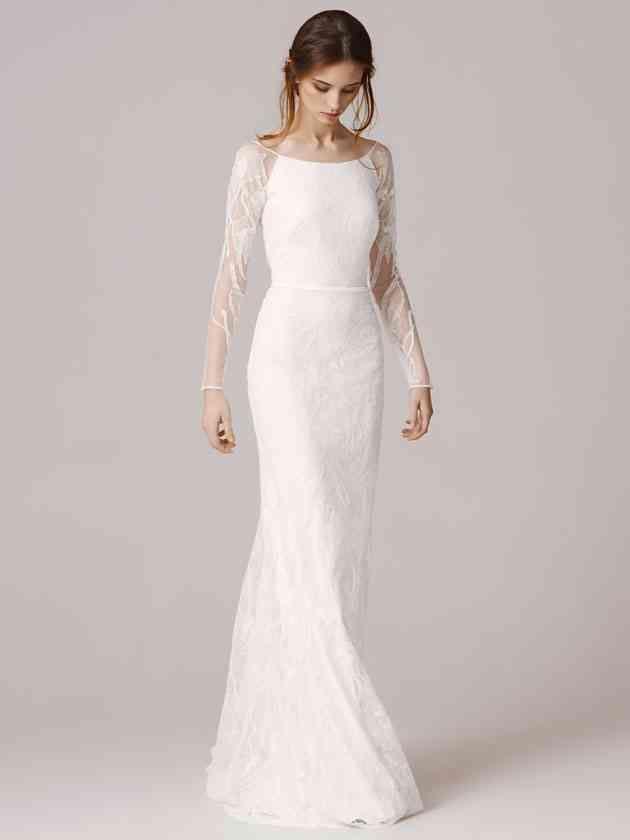 Noah by ANNA KARA   Long sleeve wedding gowns.   Pinterest   Anna ...