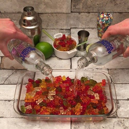 Vodka Lollies