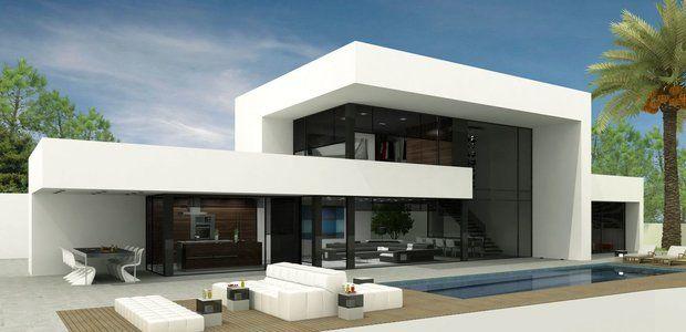 Futuristic Villa Modern Villa Design Modern House Exterior Modern House Facades