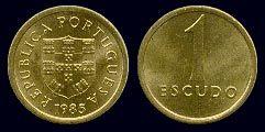 1 Escudo - Latão- Niquel, 1981