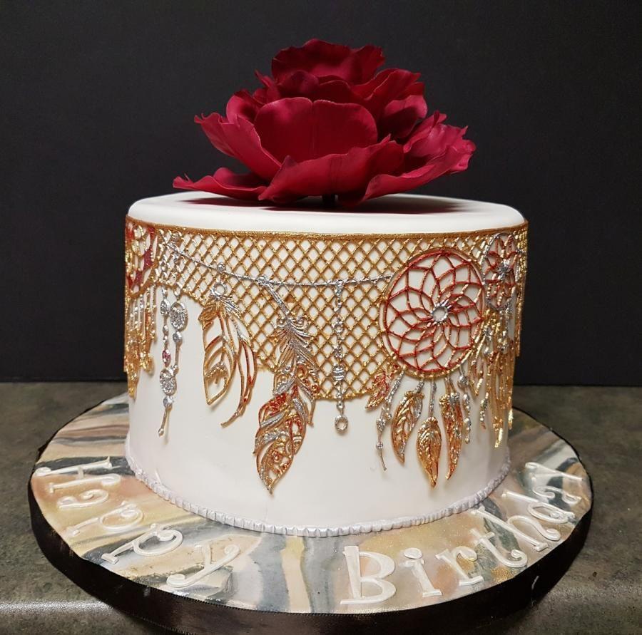 Dreamcatcher cake by lori snow cakes u cake decorating daily