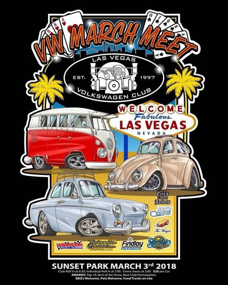 VW March Meet Events Pinterest Las Vegas Nevada And Vw - Vw car show las vegas
