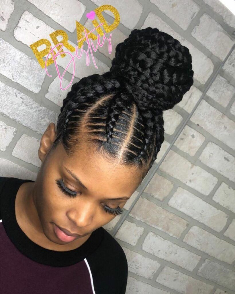 12 Creative Stitch Braids That You Will Want To Rock Braidedhairstyles Hair Styles Natural Hair Styles Braided Hairstyles