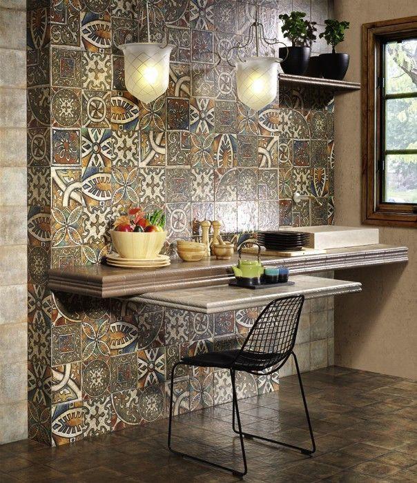 #Mainzu #Bolonia Medioevo 20x20 cm, 11 verschiedene Dekors | #Keramik #Dekore #20x20 | im Angebot auf #bad39.de 36 Euro/qm | #Fliesen #Keramik #Boden #Badezimmer #Küche #Outdoor