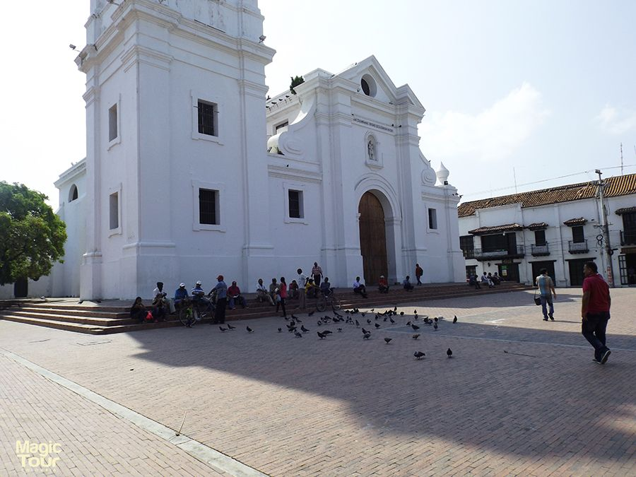 The cathedral of santa marta #Church #View #Old #Santamarta #Welovetravel