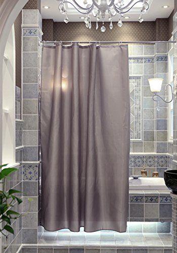 Shower Curtain 71x71inch Waterproof Polyester Fabric Bathroom