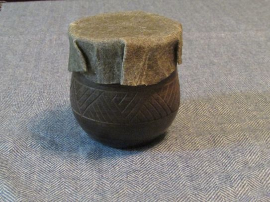 Linen cup covers/medieval cling wrap!