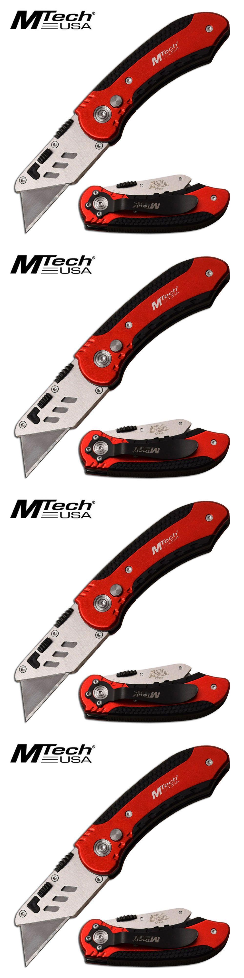 Knives And Blades 39057 Folding Utility Box Cutter Razor Blade Pocket Knife Hvac Sheetrock Plumber Tool Buy It Now Only Box Cutter Utility Box Razor Blades