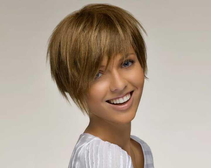 Coupe de cheveux pour visage rond cheveux epais
