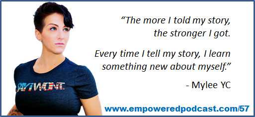Mylee YC - Tell Your story, Empowered Podcast