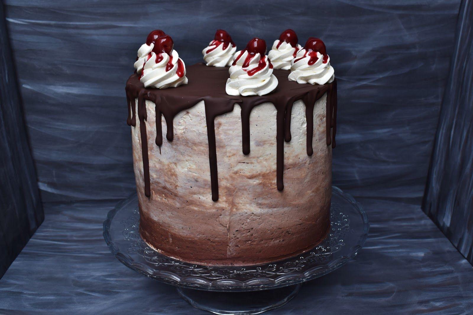 Donauwellen Torte Lebensmittel Essen Kuchen Einfrieren Und Torten