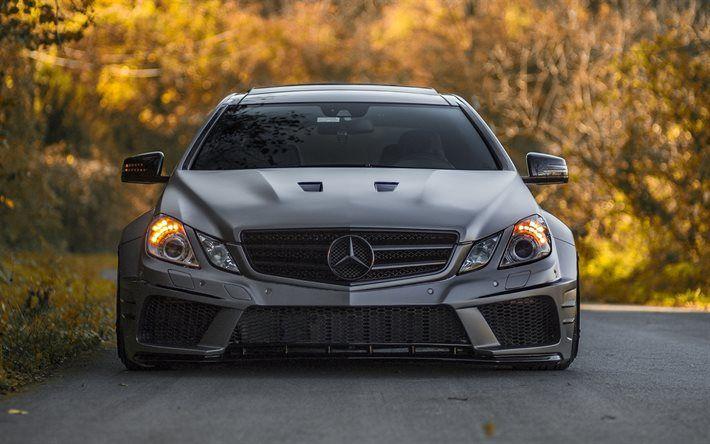 Download wallpapers MercedesBenz EClass tuning road