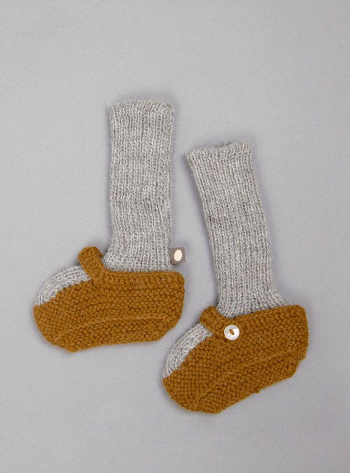 Oeuf - Baby Alpaca Sock Booties