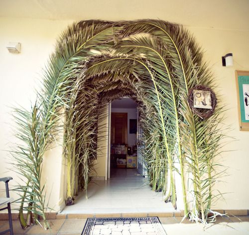 palm sunday, this was the size of palms we had in Haiti one year we were there on Palm Sunday