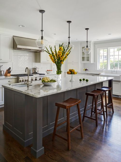 Transitional Kitchen Design Ideas U0026 Remodel Pictures | Houzz