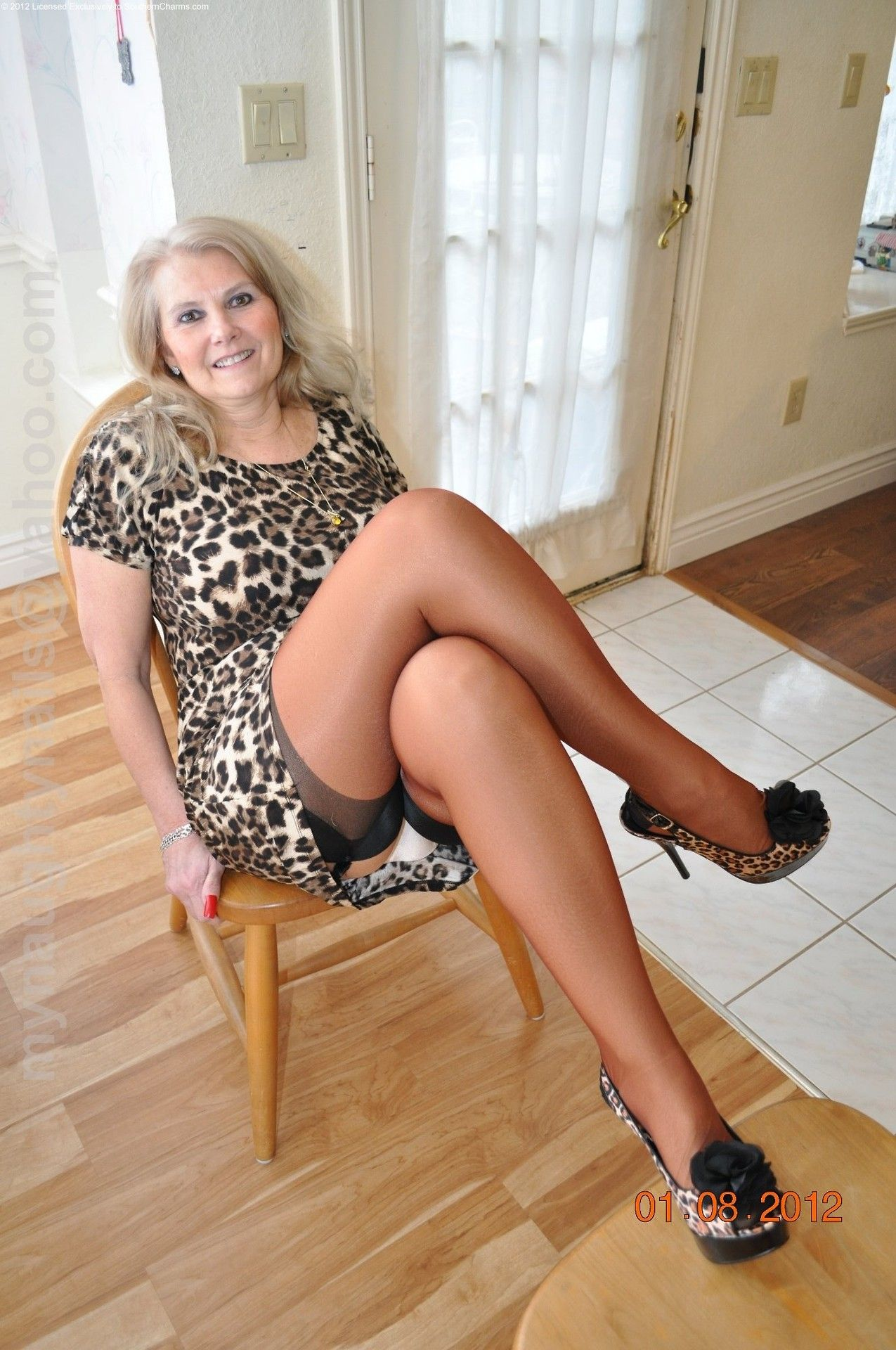 stockings mature 60 plus
