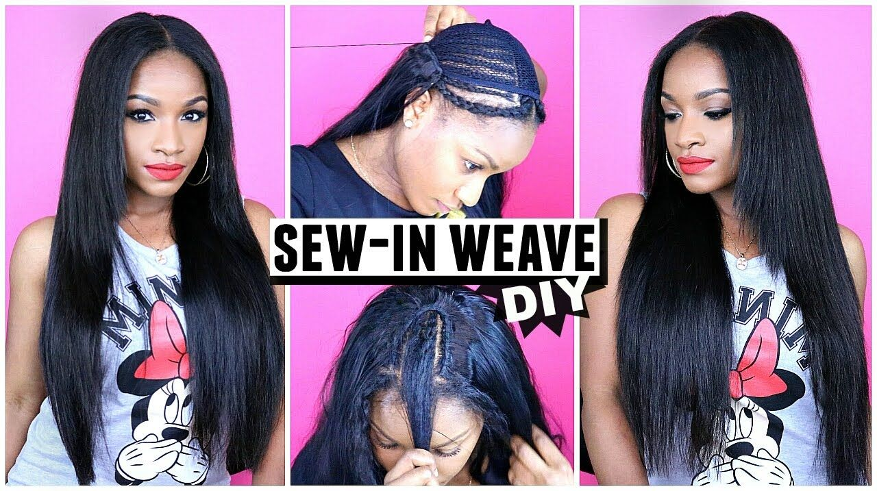 How To Do A Sew In Weave From Start To Finish Grace Hair Aliexpress
