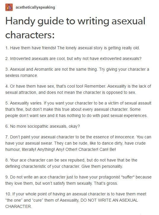 asexual advice