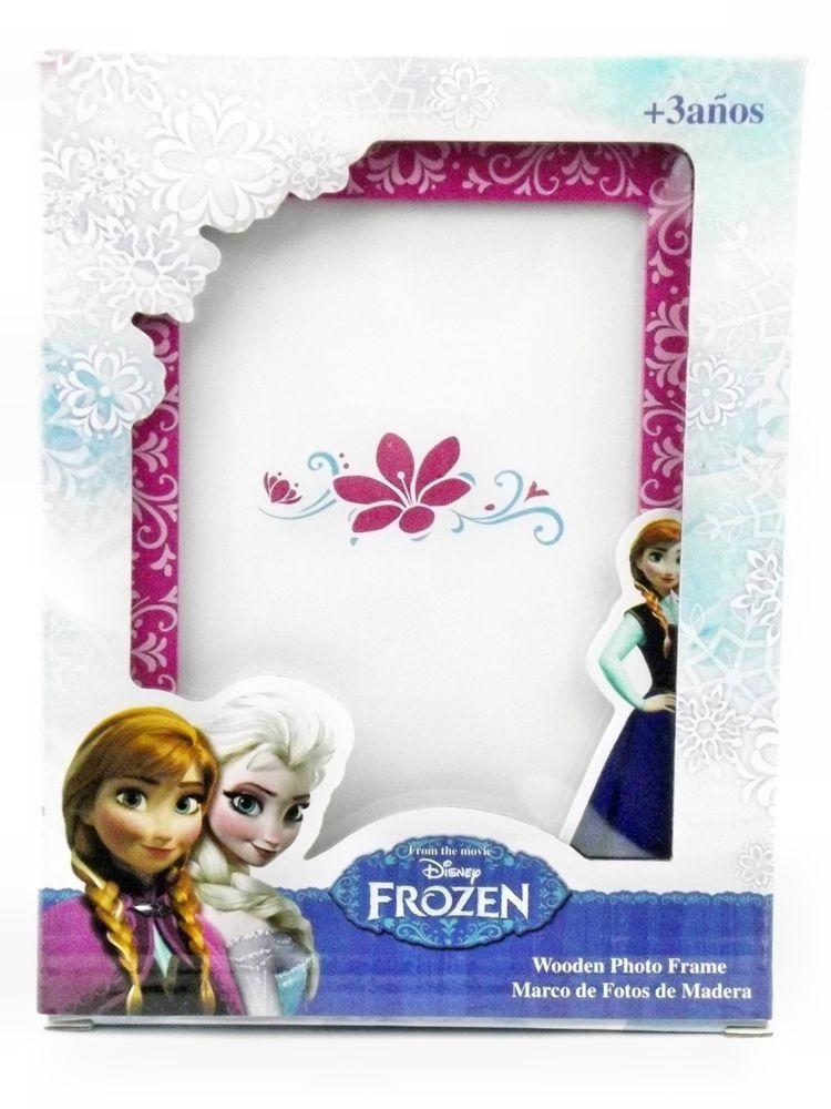 Details zu Disneys Frozen Die Eiskönigin Bilderrahmen Anna u. Elsa ...
