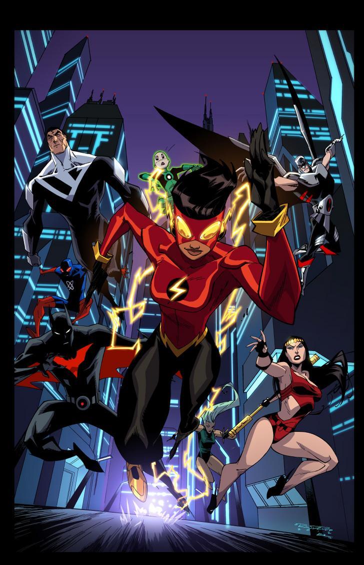 Dcau Album On Imgur Dc Comics Characters Superhero Comic Book Heroes