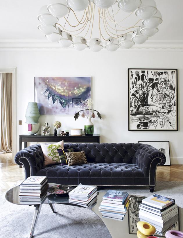 Ultra-chic-apartment-in-Paris | Maisci Style