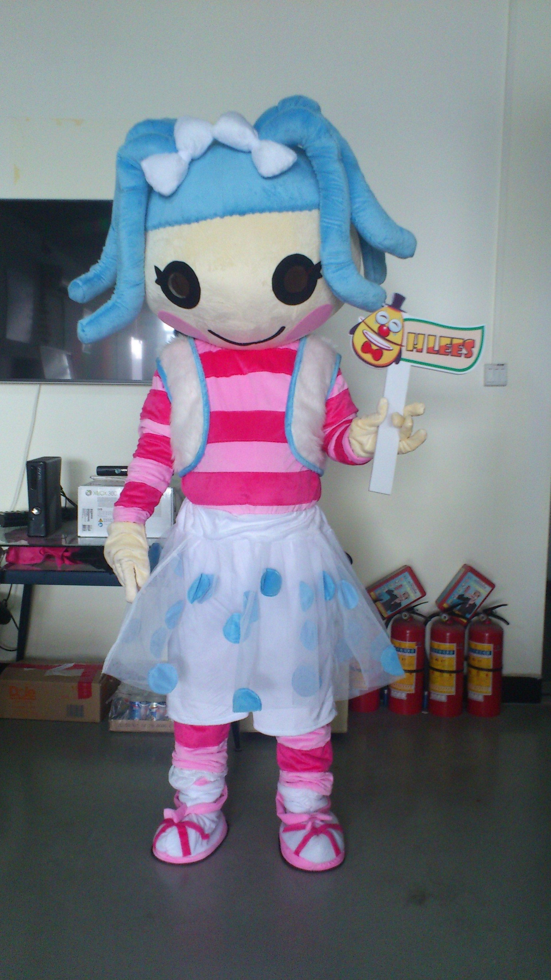 Lalaloopsy Jewel Sparkles Mascot Costumes | Custom College Mascots ...