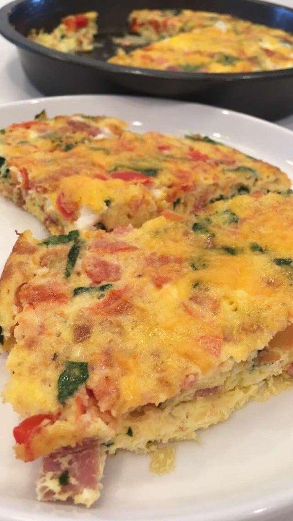 Healthy Overnight Egg Bake - Easy Living Today