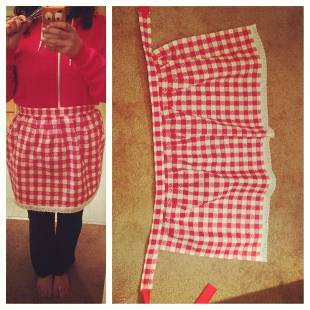 Picnic table apron. #sewingprojects