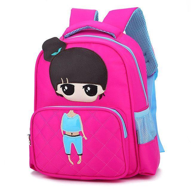 cc39b1427a Cartoon Kids School Backpack For Child School Bags For Kindergarten Girls Baby  Student Boys Character Cute Children Backpacks