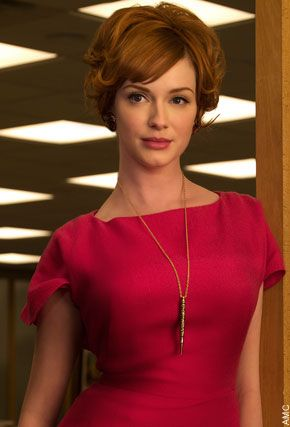 Incredibly beautiful, and my favorite Mad Men character!