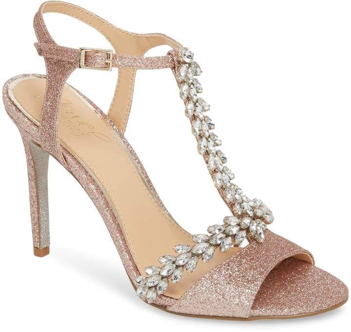 Bridal Shoes At Nordstrom: Badgley Mischka Maxi Crystal Embellished Sandal