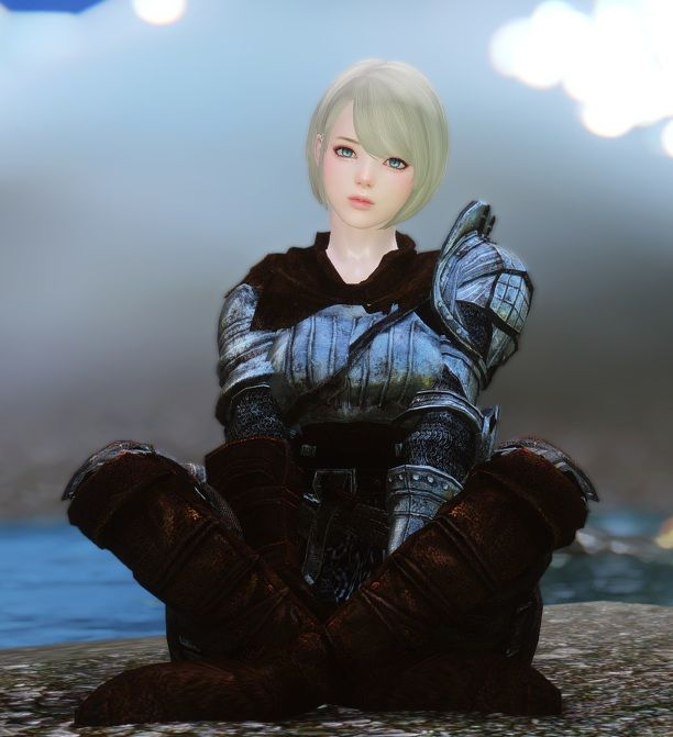 Darksoul Female Knight Armor Cbbecbs Eskyrim Skyrim