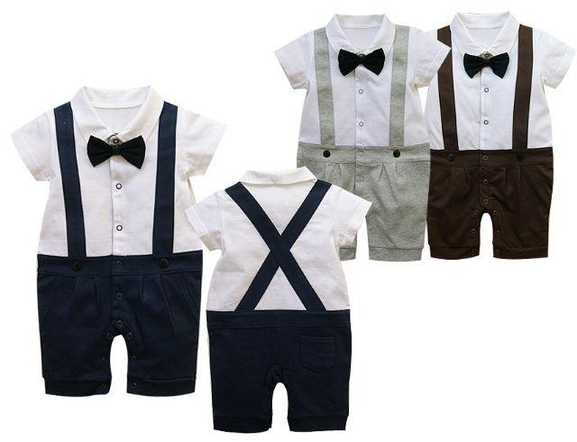 820508ed4a81e Dark Blue PhD Boys Outfit Romper Suit Tie Bow Wedding Birthday ...
