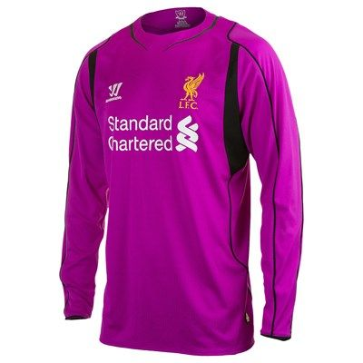 newest 8b73c a85e6 Liverpool 2014/2015 Home Goalkeeper Shirt (Purple ...
