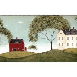 Warren Kimble Print Folk Art Country