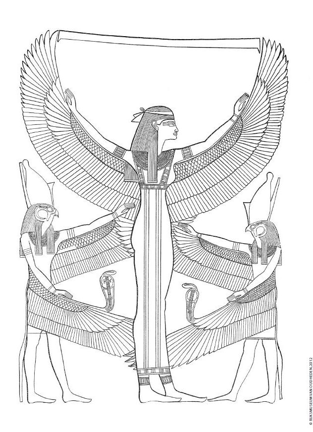 kleurplaten kleurplaat egypte
