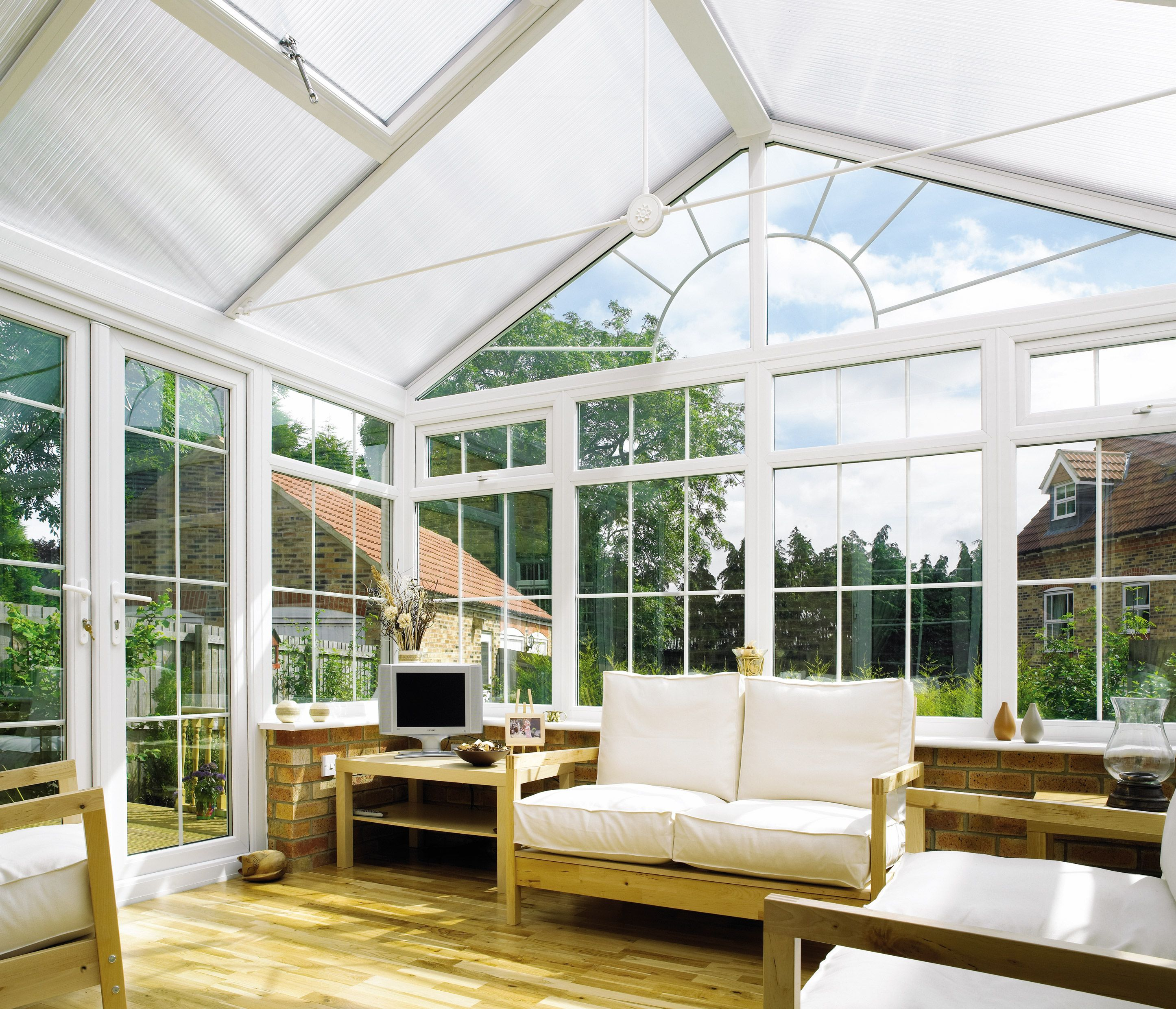 Give A Refreshing Look To Your House With Misted Double Glazed Units With The Rising Property Prices All Conservatory Roof Sunroom Addition Outdoor Rooms