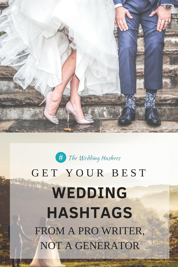 Wedding Hashers | We write awesome wedding hashtags