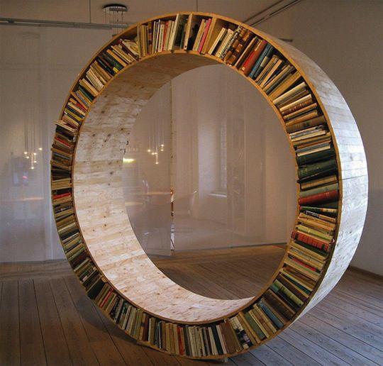 weird book shelves | 25+ Weird and Unusual Bookshelf Designs