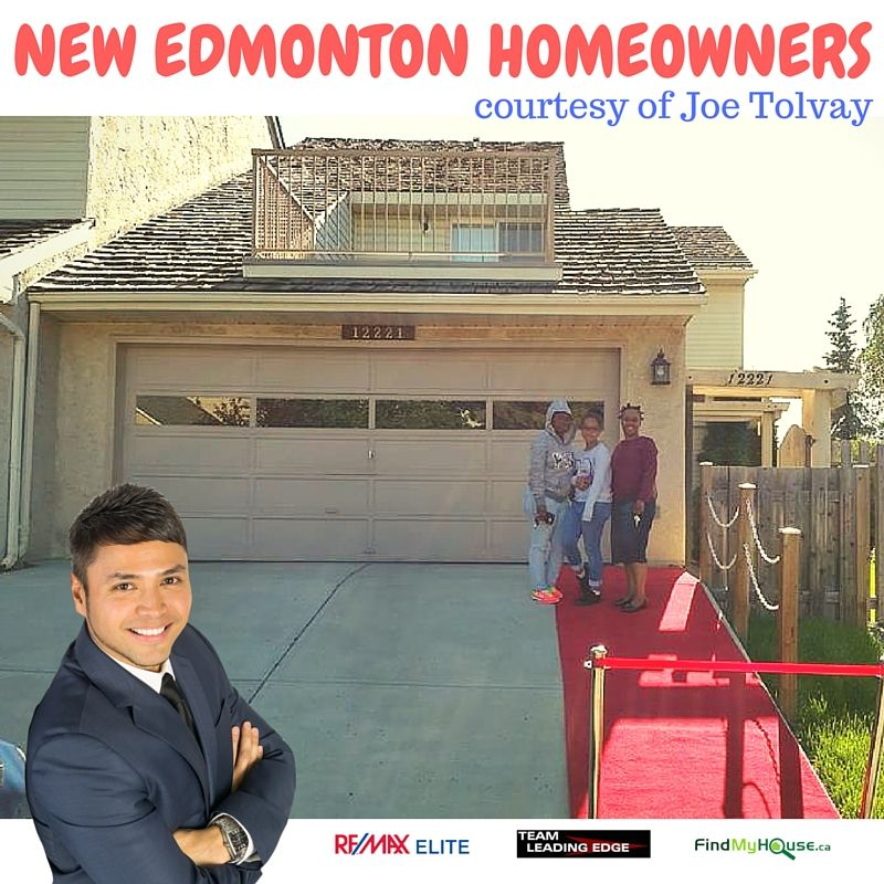 New Edmonton Homeowners June 2016