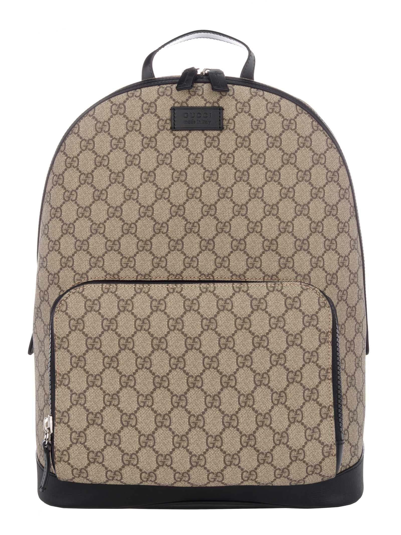 9b0bfe60e4d GUCCI BACKPACK GG SUPREME.  gucci  bags  leather  canvas  nylon