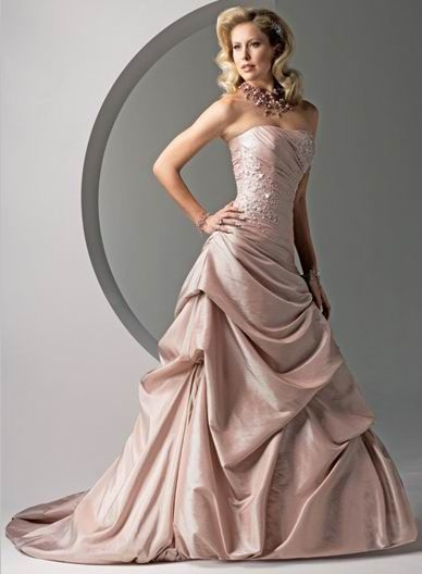 78  images about Colored Wedding Dresses on Pinterest - Bridal ...